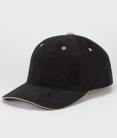 Brushed Cotton Twill Sandwich Cap