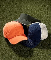 UltraClub Classic Cut Brushed Cotton Twill Sandwich Visor