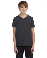 Bella + Canvas Youth Jersey Short-Sleeve V-Neck T-Shirt
