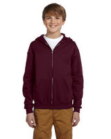 Jerzees Youth 8 oz., 50/50 NuBlend® Fleece Full-Zip Hood